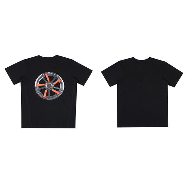 best selling mens t shirt hip-hop Orange purple Big V printing short sleeve Stylist Friends Size S-XL A variety of styles and colors summer Breathable