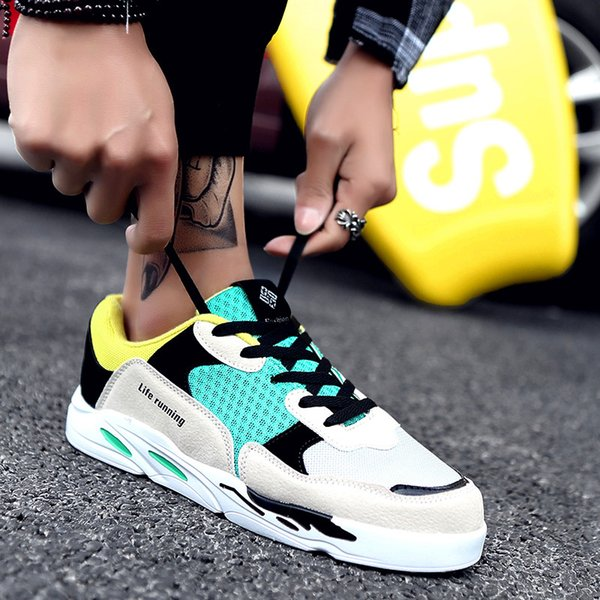 New Men Shoes Adult Mens Sneakers Summer Breathable Shoes Super Light Casual Shoes Male Tennis Masculino Sneakers running
