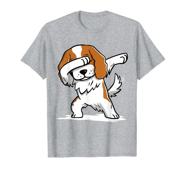 Dabbing Cavalier King Charles Spaniel Dab Dance Gift T-Shirt