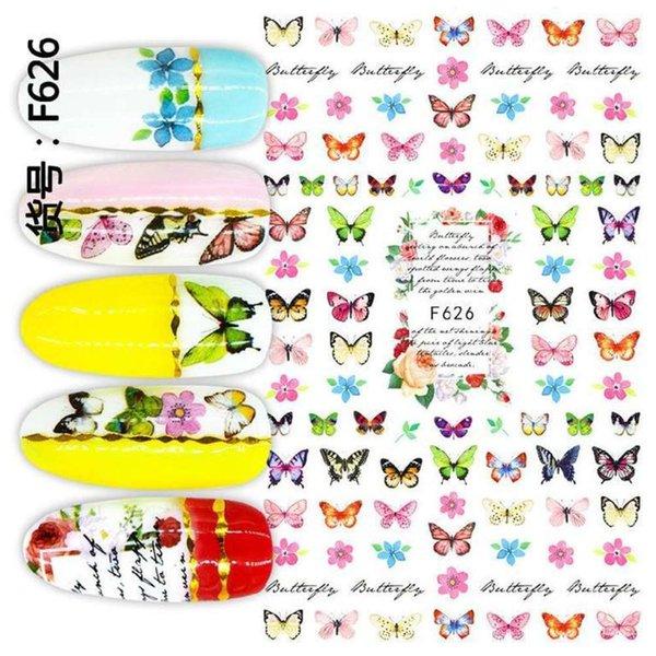 Serie de mariposa F-626
