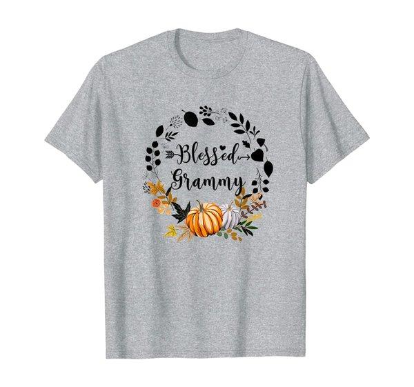 Blessed Grammy Shirt Thanksgiving Gift Pumpkin Funny T-Shirt