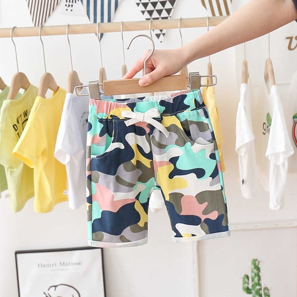 best selling Boys' Casual Shorts 2021 New Children's Fashion Beach Pants