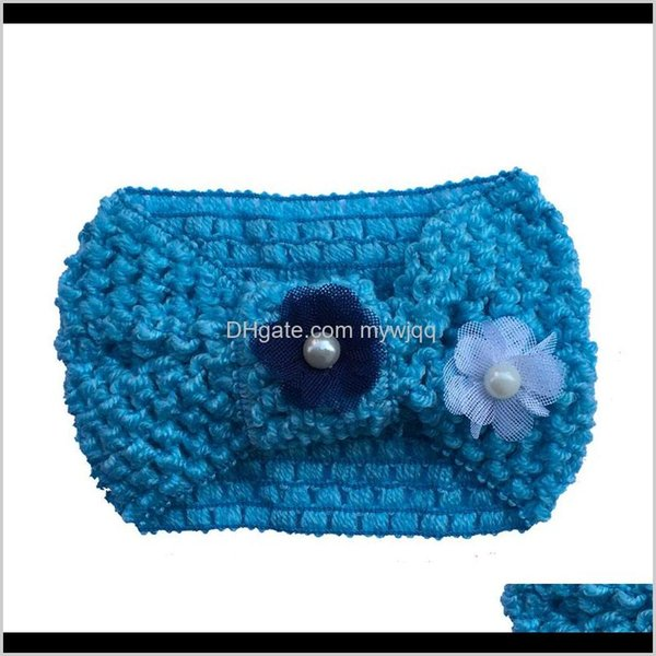Bandeau bleu turban