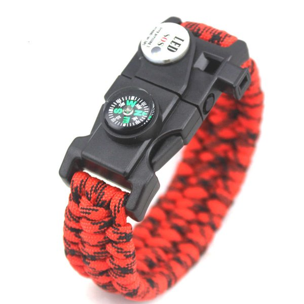 Red And Black Camouflage