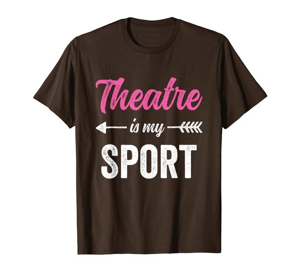 Theatre Is My Sport T-Shirt - Musical Drama Club