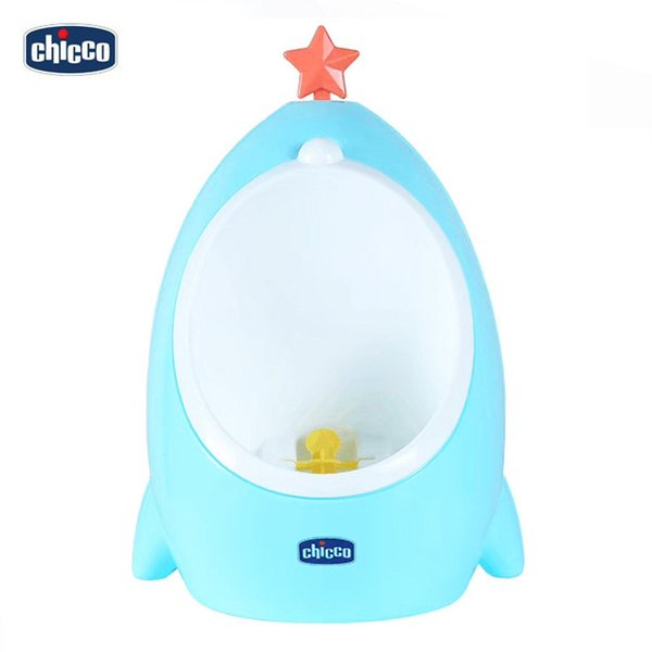top popular Italian Chicco children's urinal car portable frog urinal baby standing urinal 2021