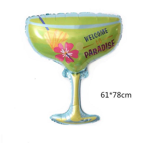 Cool bebida de vidro no verão