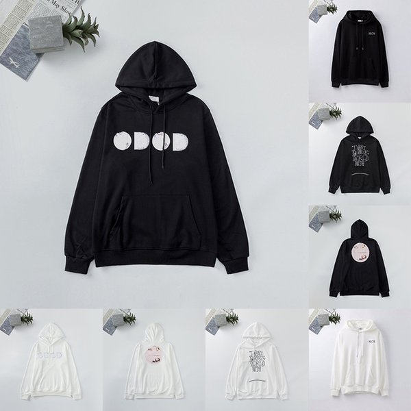 top popular Mens Womens Hoodies Fashion Men Hooded Hip Hop Couples Designer Hoodie Loose Fit Women Pullover Luxury Clothes Sudadera Sweatshirts DR2022 2021