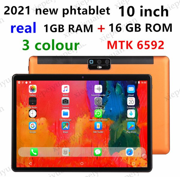 best selling 2021 OEM 10.1 Inch Tablets Android 7.0 3G Phone Call 1GB 16GB Quad Core WiFi Bluetooth GPS Dual SIM Tablet PC