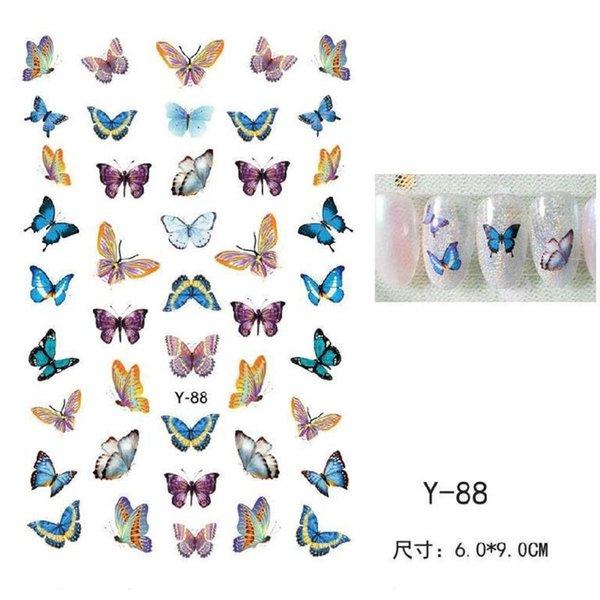 Serie de mariposa Y-88