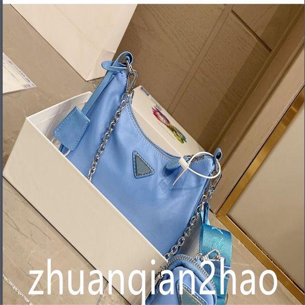 2021 Luxury designers bags shoulder bag women classics crossbody bags high quality hobo bag for fashionRe-Edition Nylon tote handbags with box