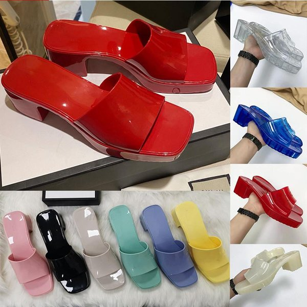 top popular Brand women's slippers fashion lady Sandals Beach Thick bottom Sell Well women 2021