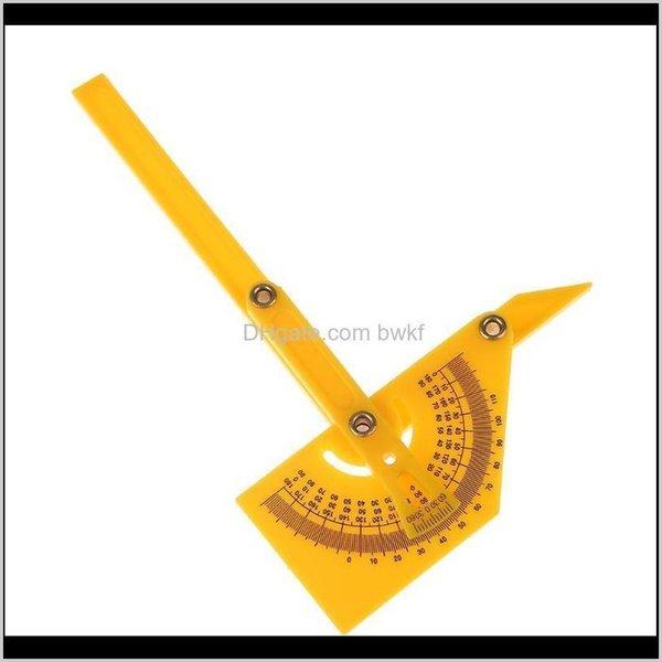 top popular Gauges Gauging Tools Measurement Analysis Office School Business & Industrialmulti-Function Ruler Finder Folding 180 Degree Angle Template Pr 2021