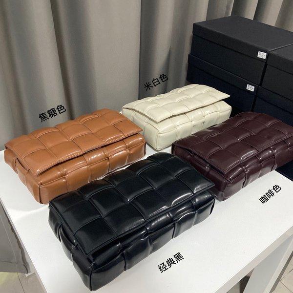 Shoulder Bags Women Luxurys Designers 2021 Lady Fashion Genuine Leather Candy Color Pillow CrossBody Bag High Quality Clutch messenger Handbags