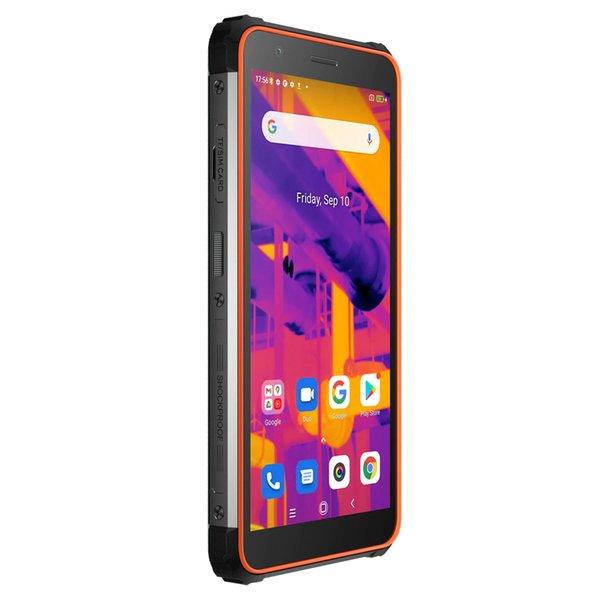 top popular Blackview BV6600 Pro Thermal Rugged Phone Waterproof Dustproof Shockproof 4GB+64GB Android 11 MTK Helio P35 Octa Core 8580mAh 4G 2021