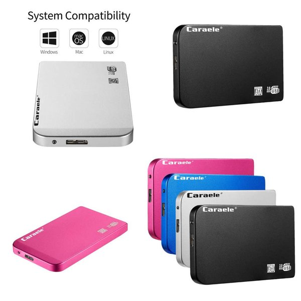 """top popular HDD SSD USB 3.0 2.5"""" External Hard Drives 500GB 1TB 2TB 5400RPM 8MB Mobile Storages Device Portable Disk For PC Laptop Desktop 2021"""
