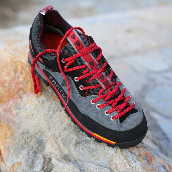2021 Waterproof Hiking Shoes Mountain Climbing Shoes Outdoor Hiking Boots Trekking Sport Sneakers Men Hunting Trekking Size 46