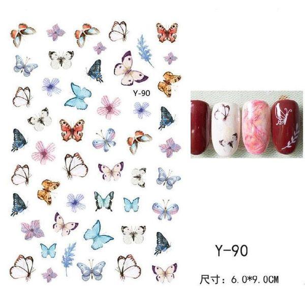 Serie de mariposa Y-90