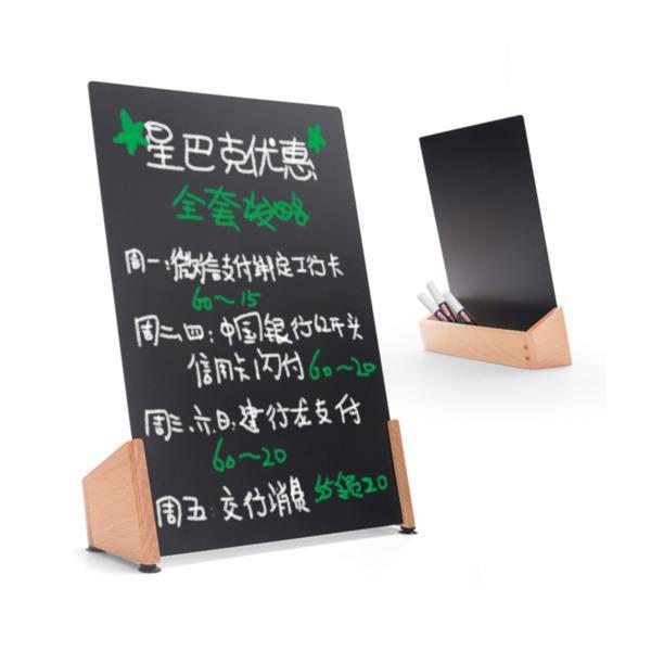 top popular blackboard Desktop small Billboard shop advertising small blackboard desktop advertising blackboard advertising 2021