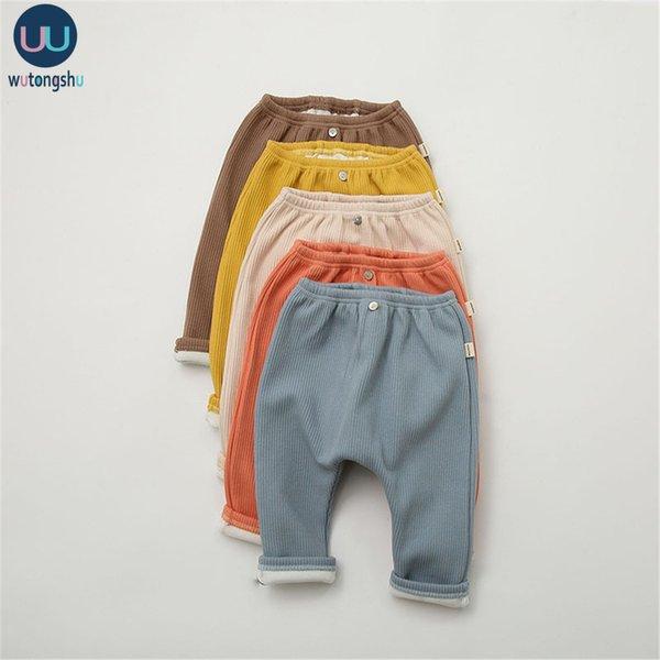 top popular Warm newborn Baby Broek Fat Cat Soft Girl Boy 0-24M Winter Restore Spring Clothing A0510 2021