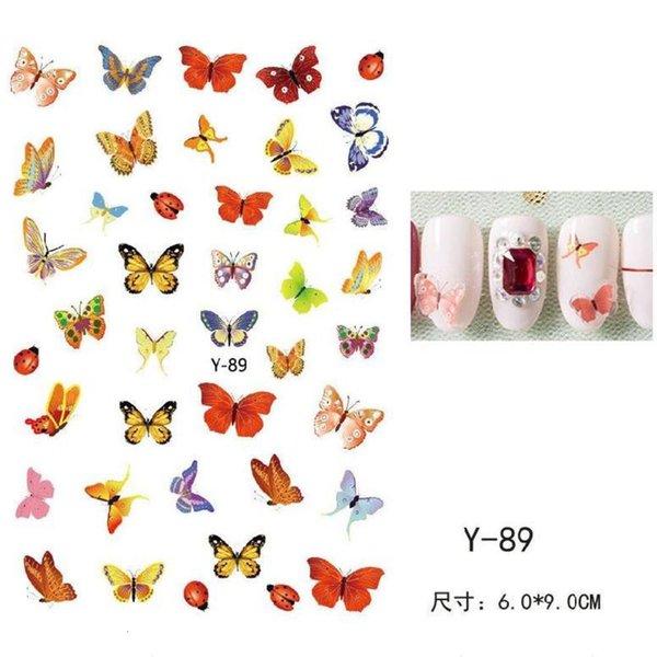 Serie de mariposa Y-89