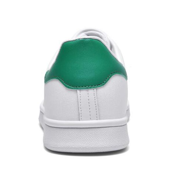 Launched men's and women's sports shoes, white, lightweight and fashionable all-match women's running sports shoes