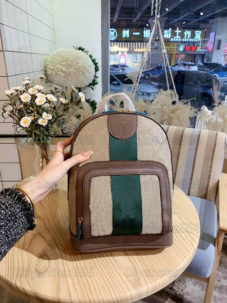 best selling Ophidia Backpack Mens Italy Red and Green Stripe Brand bag Womens Ophidias Backpacks Wallet Briefcase Handbag Travel Bags Oxidized Luggage Business Totes 547965