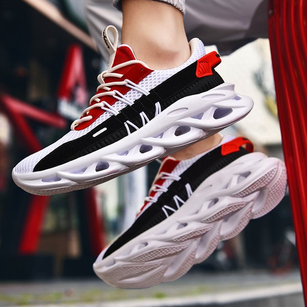 Fashion Breathable Mens Casual Shoes Breathable lace-up non-slip youth trend shoes mesh sports casual shoes Tenis Masculino