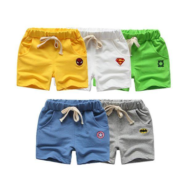 best selling Boys' Summer Cotton Thin Capris Children's Shorts Men's and Women's Beach Casual Pants