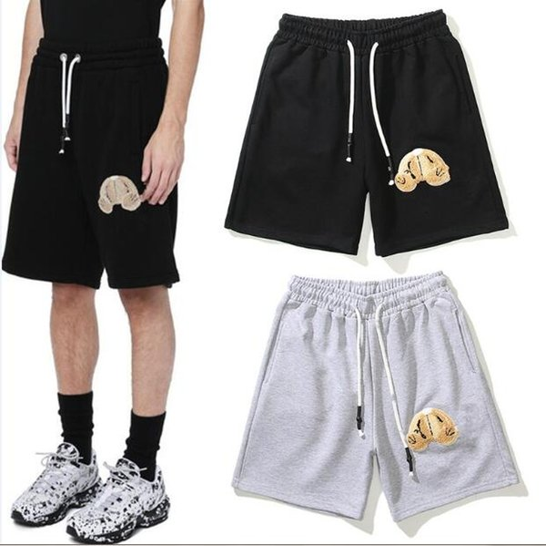 top popular Fashion Mens designer Shorts High Street Relaxed Short pants for Men letter printed casual Hip Hop Streetwear Style trousers ST2109 2021