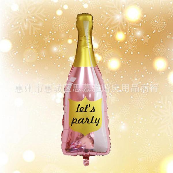Deixe # 039; s garrafa de festa