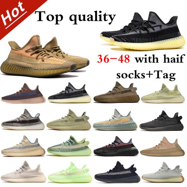 best selling 3M Reflective Running Shoes Top Quality With Box And Hand Bag For Gift 2021Hotest Mens Womens Cinder Zebra Tail Light Israfil Static Size 36-48 With Half