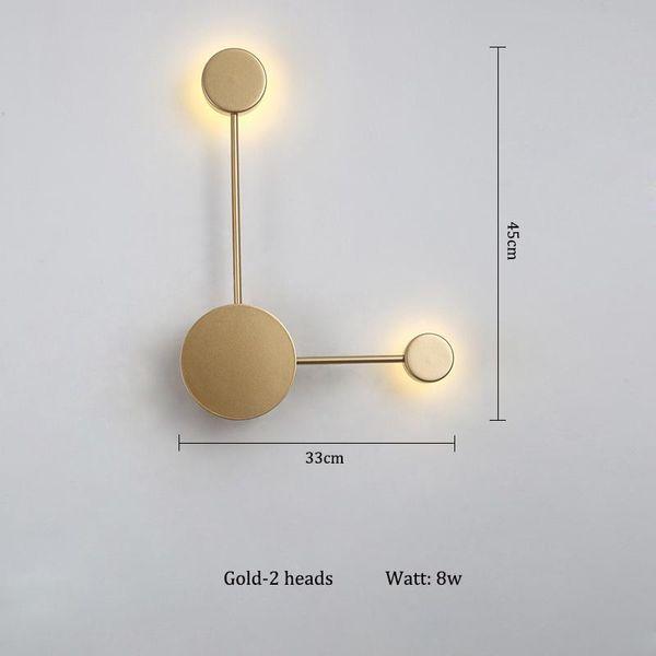 têtes d'or 2 blanc chaud (2700-3500K)