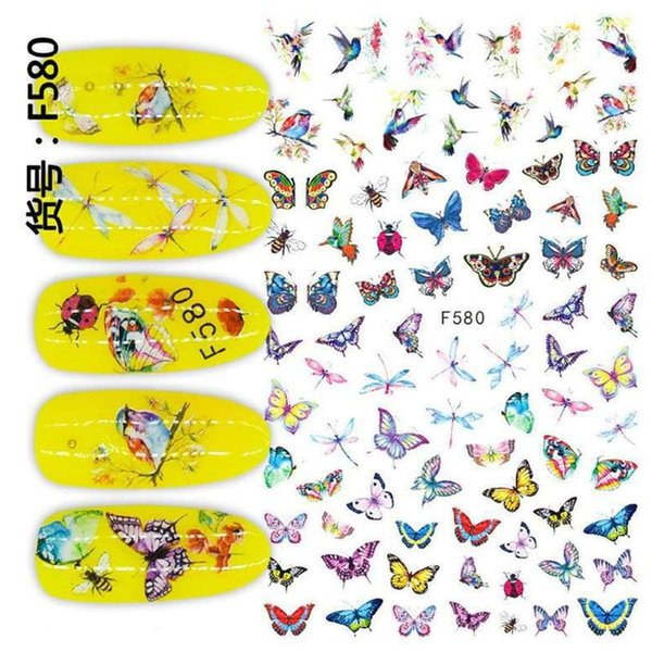 Serie de mariposa F-580