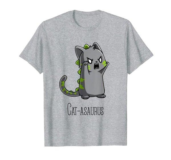 Catasaurus Kitten Kitty Dinosaur T-Rex Dino Funny Cat Lovers T-Shirt