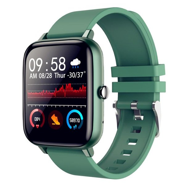 best selling 2021 Willgallop P6 Bluetooth Call Smart Watch Full Touch Blood Pressure Monitor Men Women Fitness Tracker Smartwatch For Android Ios