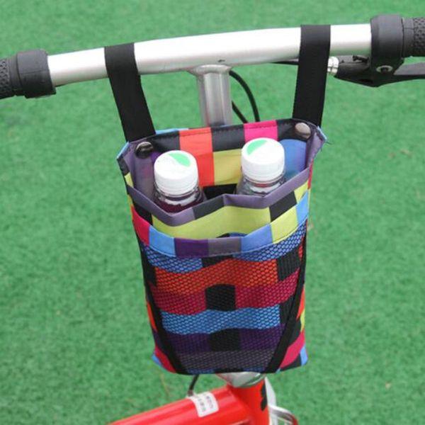 top popular Cycling Waterproof Front Storage Bag Bike Basket Mobile Phone Water Cup Storage Bicycle Bags for Motorcycle Electric Vehicle Bag 2021