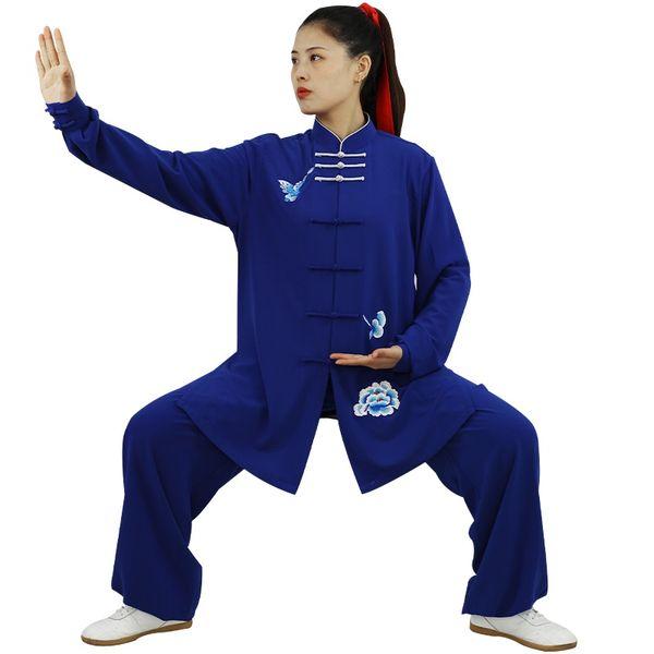 Traditional Chinese Clothing Taiji Long Sleeved Wushu Taichi Women Kungfu Uniform Suit Uniforms Tai Chi Exercise Clothing 12451 Apparel Ethnic Clothing DIY Clothing Mens Clothing Womens Clothing