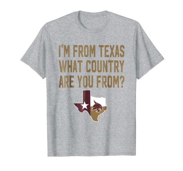 Texas State Bobcats Texas Is A Country T-Shirt - Apparel