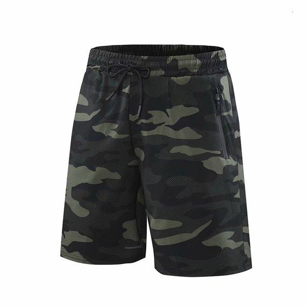 Camouflage noir, vert