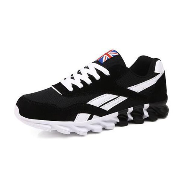 New spring and autumn men's large size casual sports shoes comfortable lace-up fashion mesh men adult men's shoes