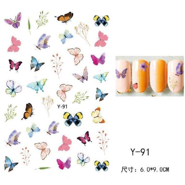 Serie de mariposa Y-91