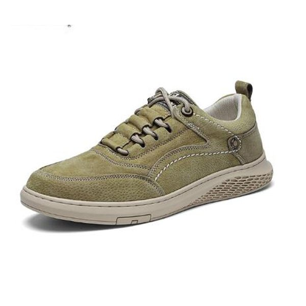 Casual fashion sneakers leather casual autumn lace-up breathable comfortable sneakers outdoor leisure sports