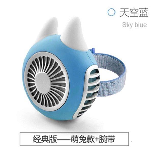 Lindo Conejo Sky Blue Piggy Fan-No Partido