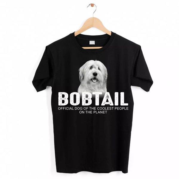 Bobtail Dog Unisex Shirt Official Dog Cool People Funny Dog Motif T-Shirt
