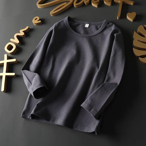 Lycra Cotton Long Sleeve (dark Grey)