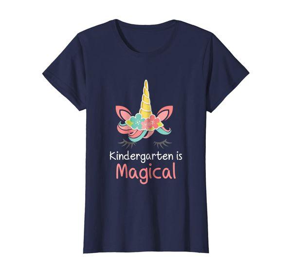 Kindergarten is Magical T-Shirt for Girls