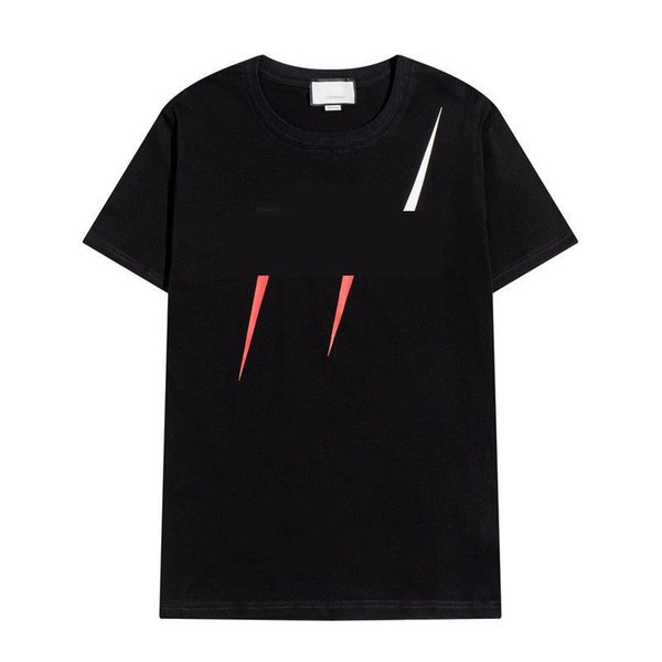 top popular Mens Womens Luxurys Designers t shirt 21ss Casual Shirts Knitting Men S Clothing Pattern Printed Tees Tops with Brand Clothes 2021