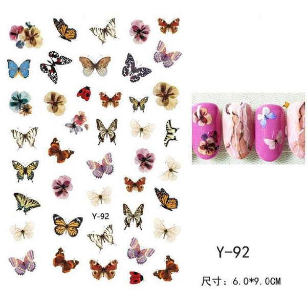 Serie de mariposa y-92