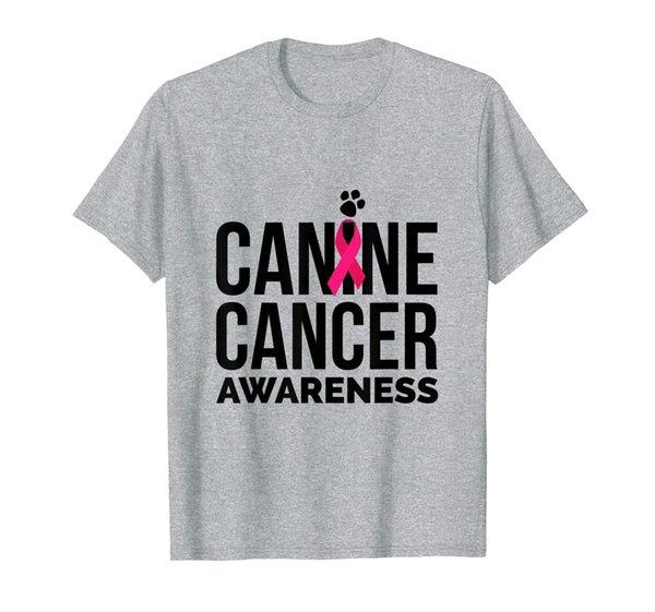 Canine Cancer Awareness T Shirt Pet Cancer